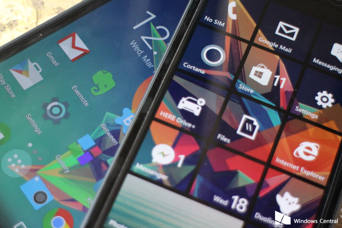 can android apps run on windows 10 mobile